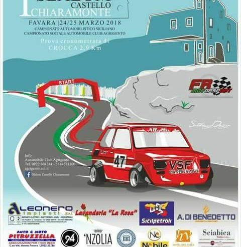 1° Slalom Castello Chiaramonte, Favara, 24/25 Marzo 2018
